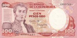 100 Pesos Oro 1983 (1. I.)