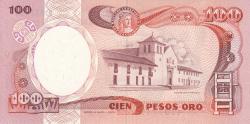 Image #2 of 100 Pesos Oro 1983 (1. I.)