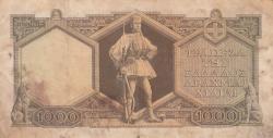 Image #2 of 1000 Drachmai 1947 (9. I.)