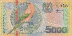 Image #1 of 5000 Gulden 2000 (1. I.)