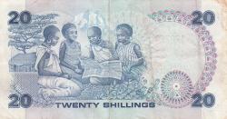 Imaginea #2 a 20 Shillings 1986 (14. IX.)