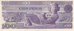 Image #2 of 100 Pesos 1982 (25. III.) - Serie VL