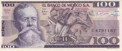 Image #1 of 100 Pesos 1982 (25. III.) - Serie VL