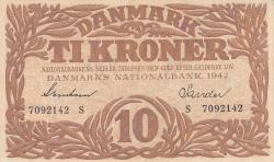 Imaginea #1 a 10 Kroner 1942 - Serie S