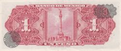 Image #2 of 1 Peso 1967 (10. V.) - Serie BCY