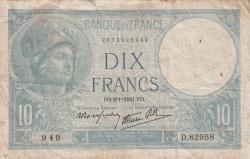 Image #1 of 10 Francs 1941 (2. I.)