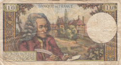 Image #2 of 10 Francs 1972 (3. II.)