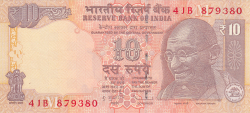 Image #1 of 10 Rupees 2013 - M