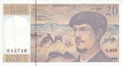 Image #1 of 20 Francsi 1992