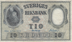 Image #1 of 10 Kronor 1954 - 2