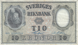 Image #1 of 10 Kronor 1955 - 3