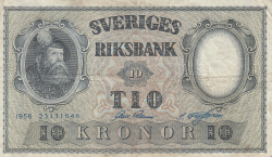 Image #1 of 10 Kronor 1956 - 7