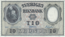Image #1 of 10 Kronor 1957 - 2