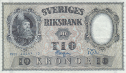 Image #1 of 10 Kronor 1959 - 3
