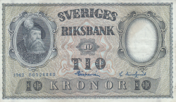 Image #1 of 10 Kronor 1962 - 1
