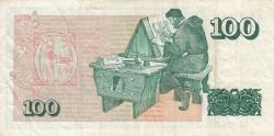 Image #2 of 100 Krónur L.1961 (1981) - signatures G. Hallgrimsson / T. Arnason