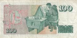 Image #2 of 100 Krónur L.1961 (1981) - signatures J. Nordal / T. Arnason