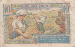 Image #2 of 10 Francs ND (1947)
