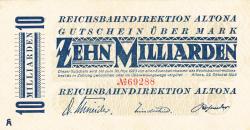 Image #1 of 10 Milliarden (10 000 000 000) Mark 1923 (23. X.)
