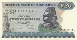 Imaginea #1 a 20 Dolari 1983