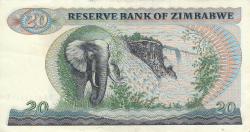 Imaginea #2 a 20 Dolari 1983