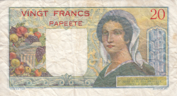 Image #2 of 20 Francs ND (1963)