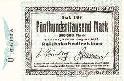 Image #1 of 500.000 Mark 1923 (10. VIII.)