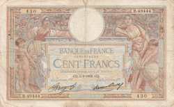Image #1 of 100 Francs 1935 (5. IX.)