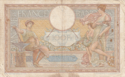 Image #2 of 100 Francs 1935 (5. IX.)