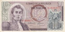 Imaginea #1 a 10 Pesos Oro 1970 (12. X.)