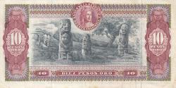 Imaginea #2 a 10 Pesos Oro 1970 (12. X.)