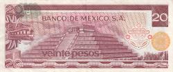 Image #2 of 20 Pesos 1973 (18. VII.)