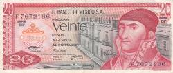Image #1 of 20 Pesos 1973 (18. VII.)