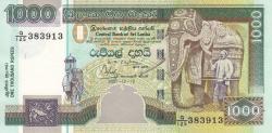 Imaginea #1 a 1000 Rupii 2001 (12. XII.)