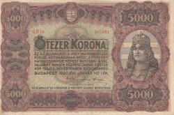 Imaginea #1 a 5 000 Coroane 1920 (1. I.)
