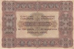 Imaginea #2 a 5 000 Coroane 1920 (1. I.)