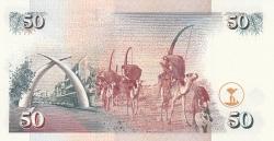 Imaginea #2 a 50 Shillings 1996 (1. I.)