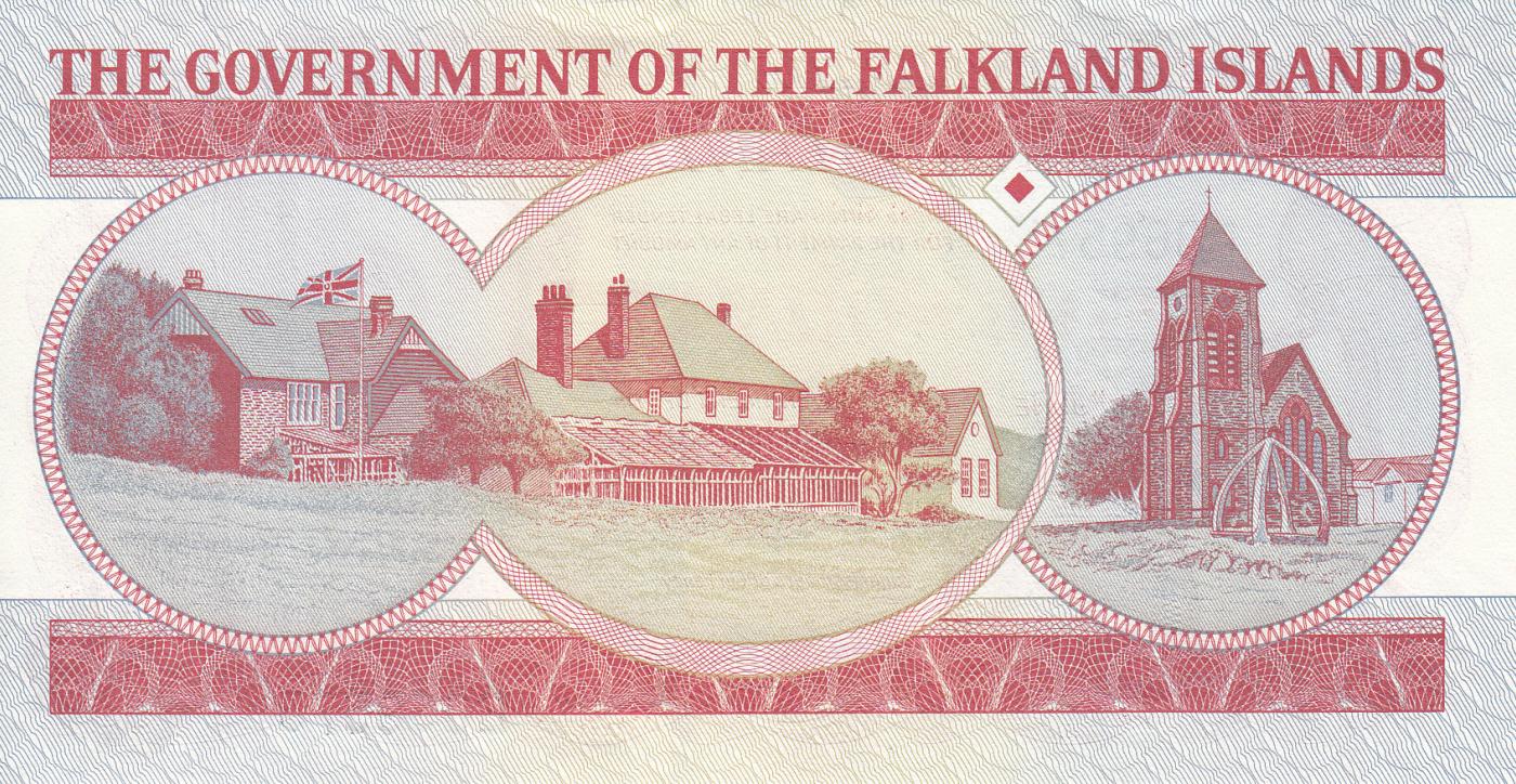 Falkland Islands 5 Pounds 2005 P-17/> UNC