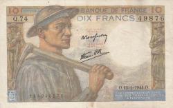 Imaginea #1 a 10 Franci 1944 (13. I.)
