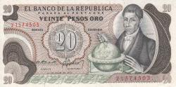 Imaginea #1 a 20 Pesos Oro 1972 (1. V.)