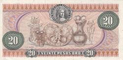 Imaginea #2 a 20 Pesos Oro 1972 (1. V.)