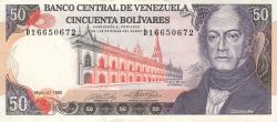 Imaginea #1 a 50 Bolivares 1990 (31. V.)