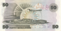 Image #2 of 50 Shillings 1980 (1. VI.)