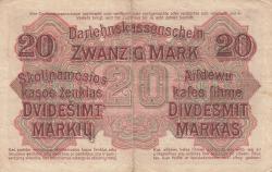 Imaginea #2 a 20 Mark 1918 (4. IV.)