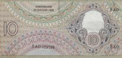 Imaginea #2 a 10 Gulden 1943 (19. I.)