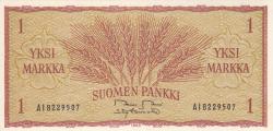 Image #1 of 1 Markka 1963 - signatures Rossi / Tornroth