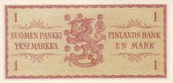 Image #2 of 1 Markka 1963 - signatures Rossi / Tornroth