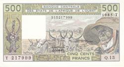 Image #1 of 500 Francs 1985