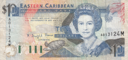 Image #1 of 10 Dollari ND (1993) - M (Montserrat)