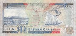 Image #2 of 10 Dollari ND (1993) - M (Montserrat)